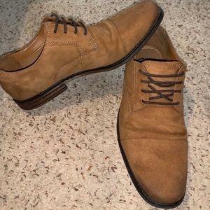 Clark's Ortholite Shoes Men's 10 Tobacco Color